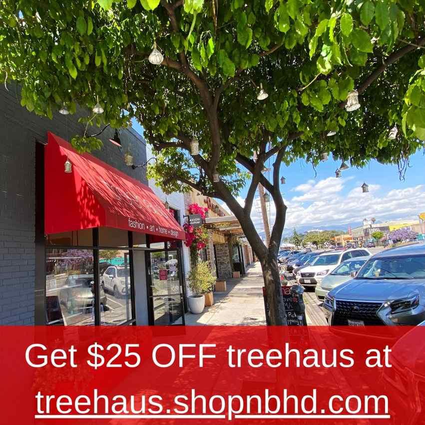 Get $25 Off Treehaus