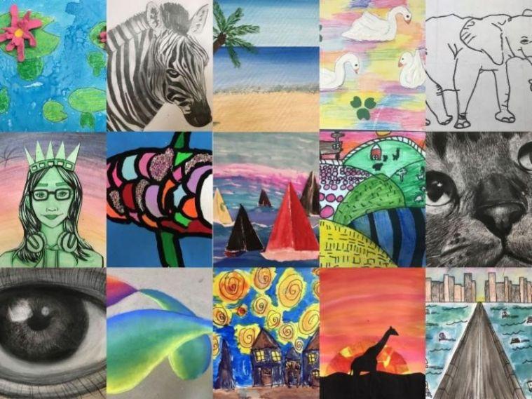 Virtual Summer Art Programs at The Center