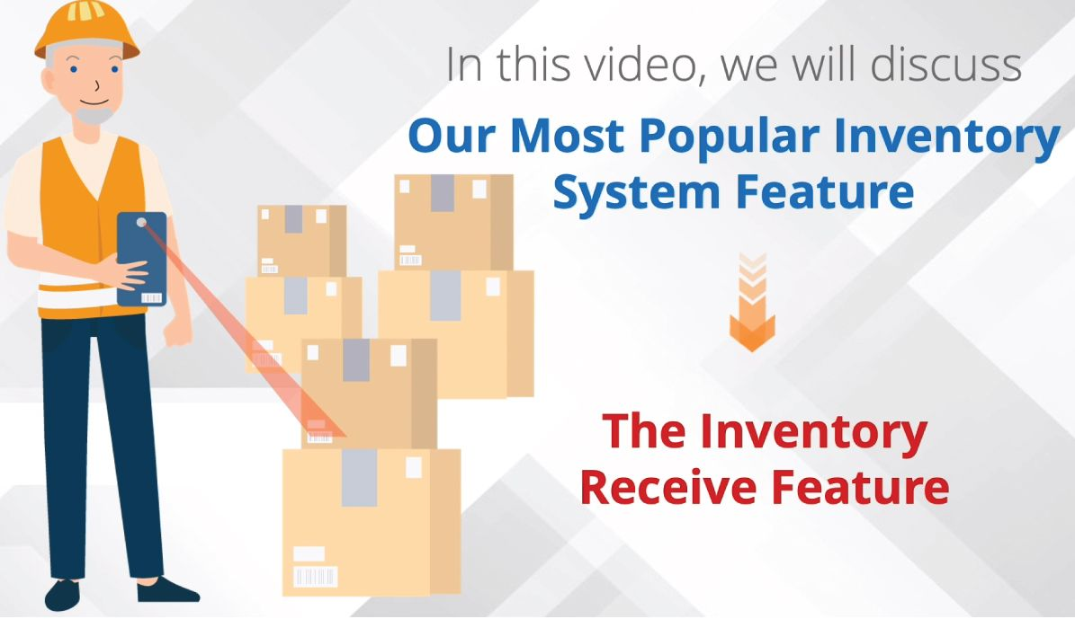 Inventory System - Receive Feature Feature