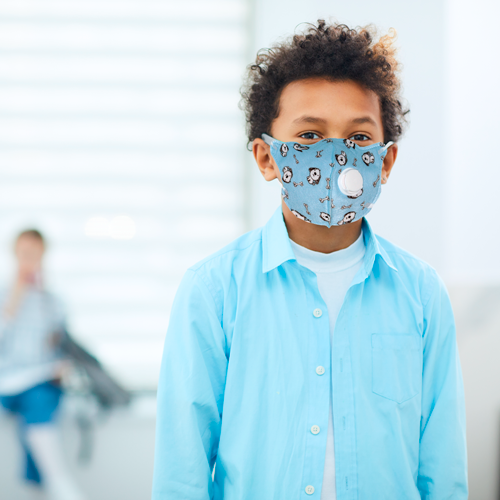 Doggy children's mask