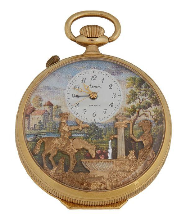 20th century Arnex Reuge pocket watch, $800-$1,200
