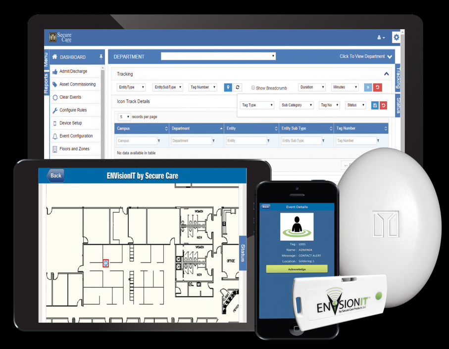 ENVision RTLS | Solution for Contact Tracing