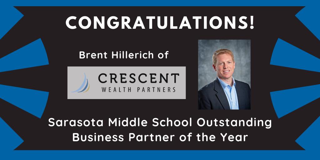 Congratulations to Brent Hillerich
