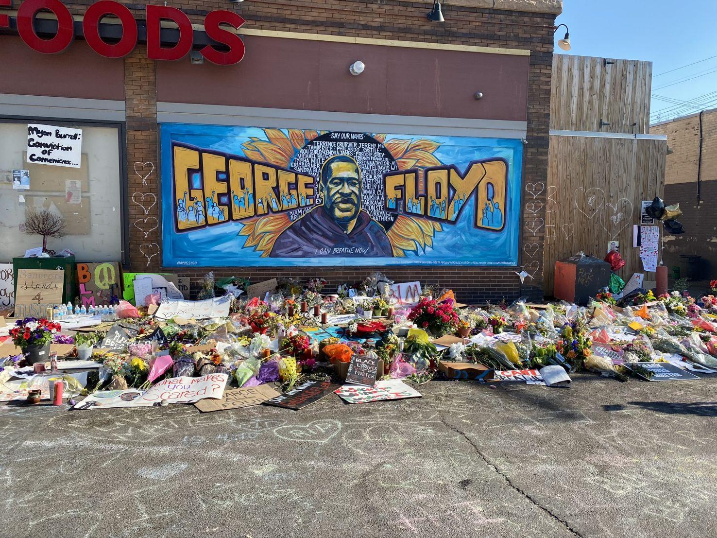 George Floyd Memorial 1