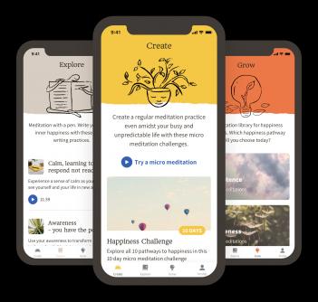 The Happy Habit App Developed By Wave Digital