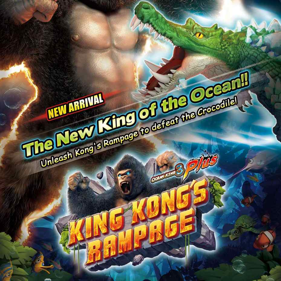 8 Line Supply Ocean King 3 Plus King Kongs Rampage