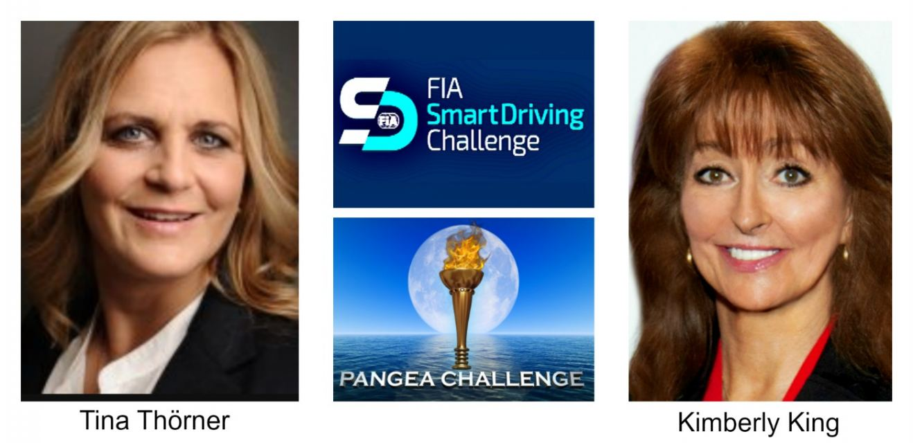 Tina Thorner, Kimberly King, Pangea Challenge