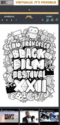 SF Black Film Fest, Virtually Possible, 6/18-8/2