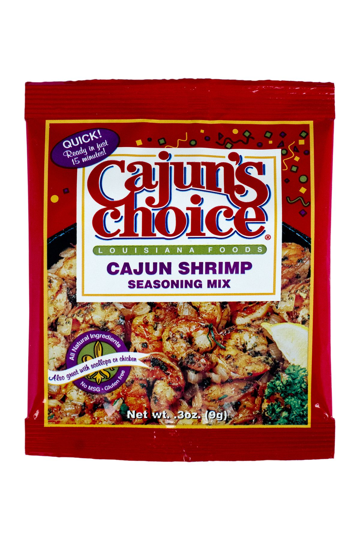 Cajuns Choice Cajun Shrimp