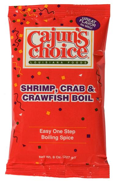 Cajuns Choice Seafood Boil