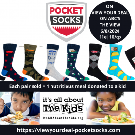 View Your Deal With Pocket Socks