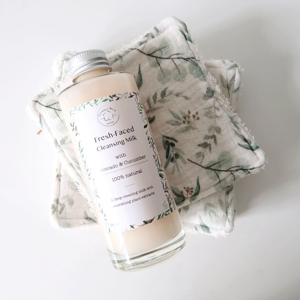 Fresh Faced Cleansing Milk By Conscious House