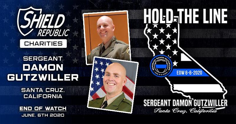 Shield Republic Sgt Damon Gutzwiller Fundraiser