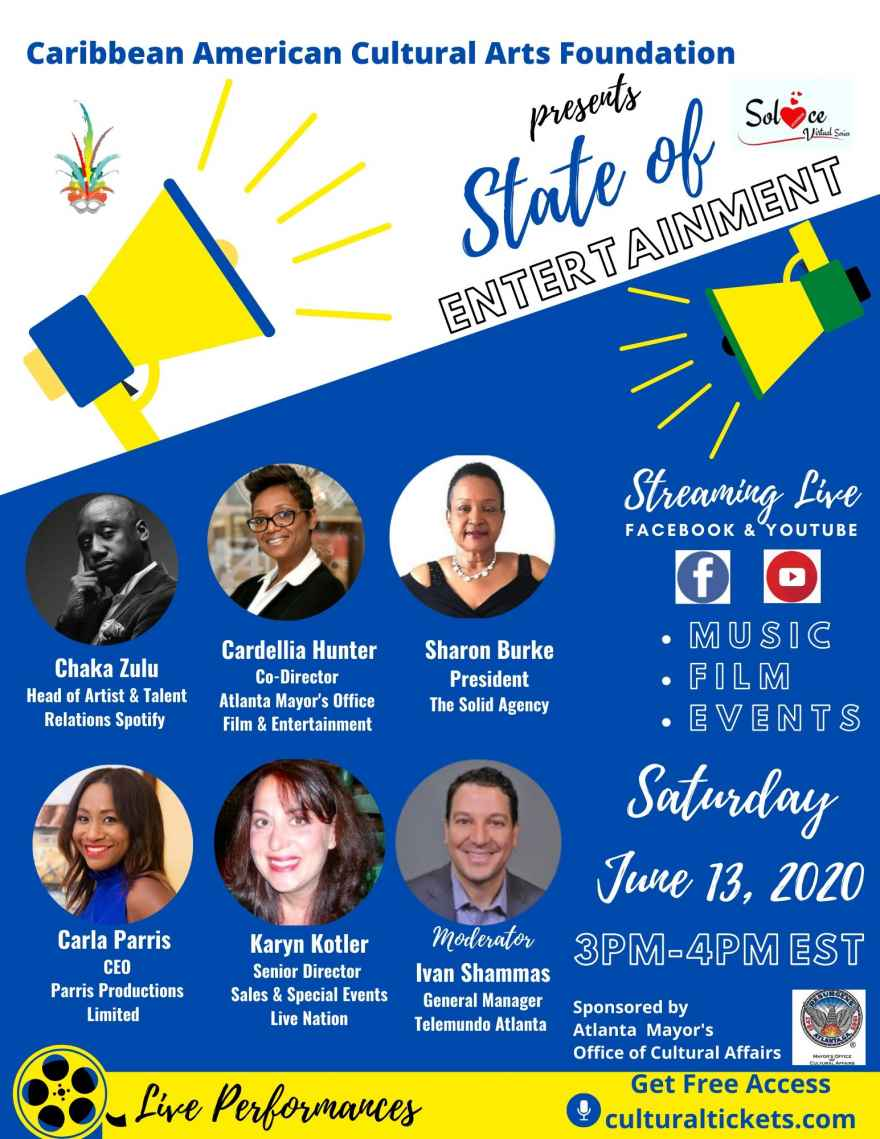 Solace State of Entertainment, Sat. June 13th, 3pm