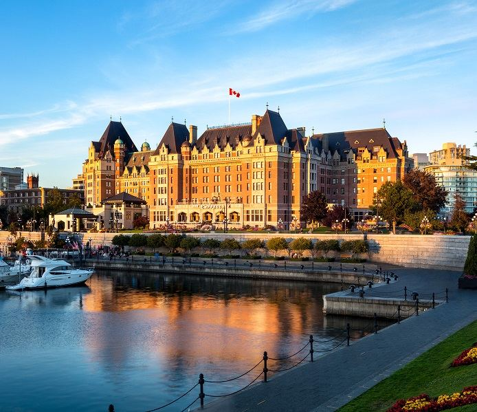 Fairmont Empress - Canada's Castle on the Coast
