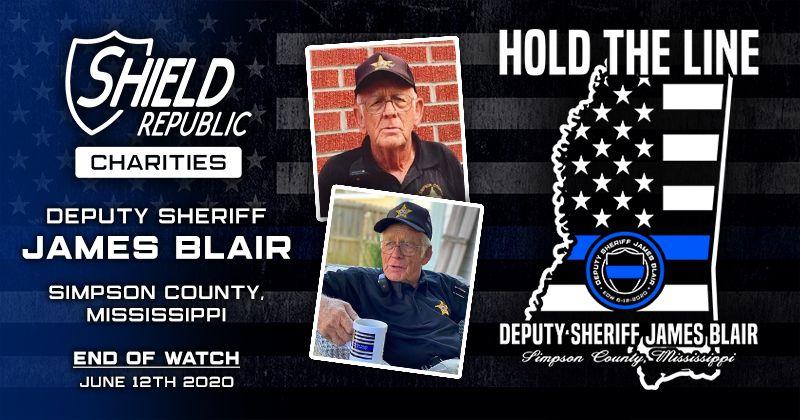 Shield Republic Dep Sheriff James Blair Fundraiser