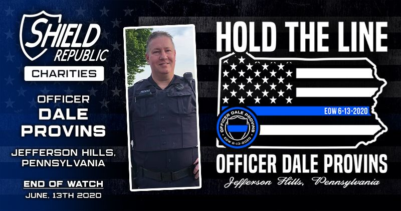 Shield Republic Officer Dale Provins Fundraiser