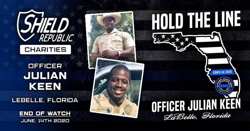 Shield Republic Officer Julian Keen Fundraiser