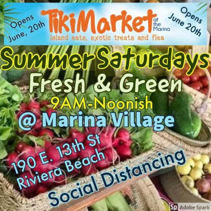TikiMarket Reopens on Saturday, June 20, 2020.