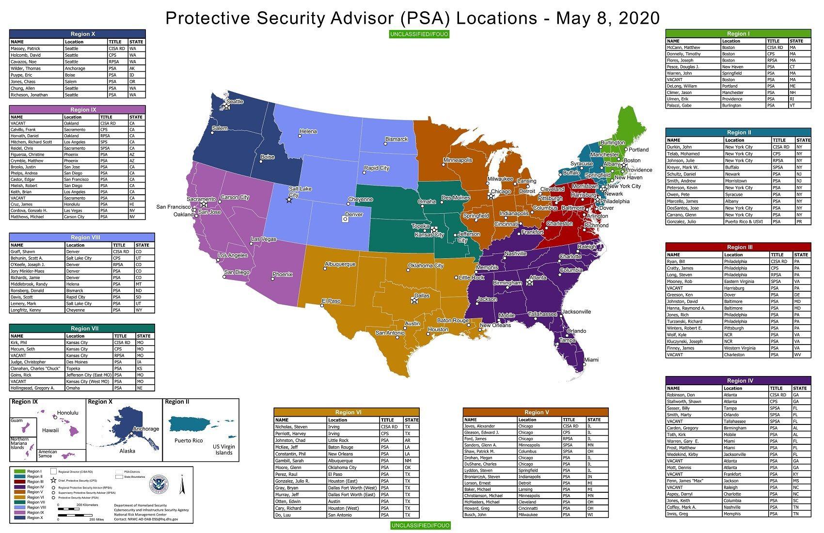 DHS PSA May 2020