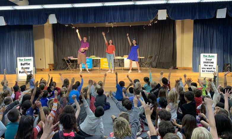 Theatre Of Peace Performing Baffle Away Bullying