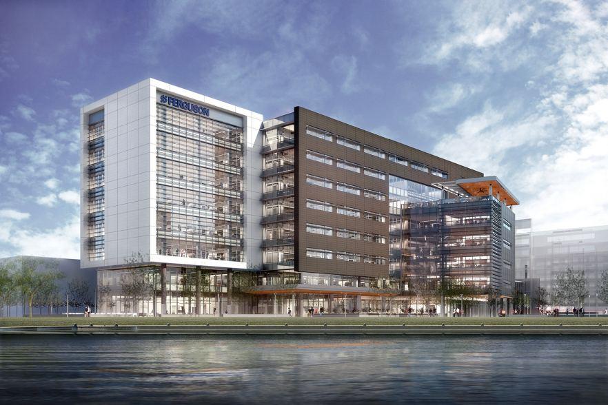 Ferguson HQ3 rendering by Clark Nexsen
