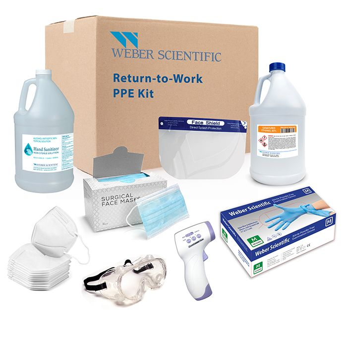 Safe at Work PPE Kits - monthly subscription