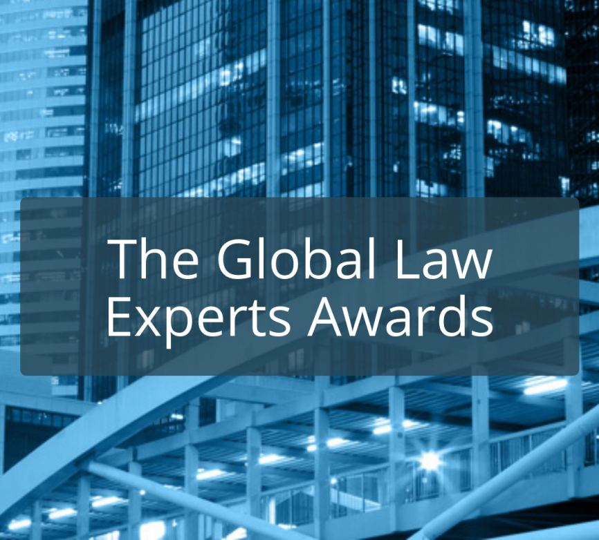 PAG wins Global Law Experts 2020 Awards