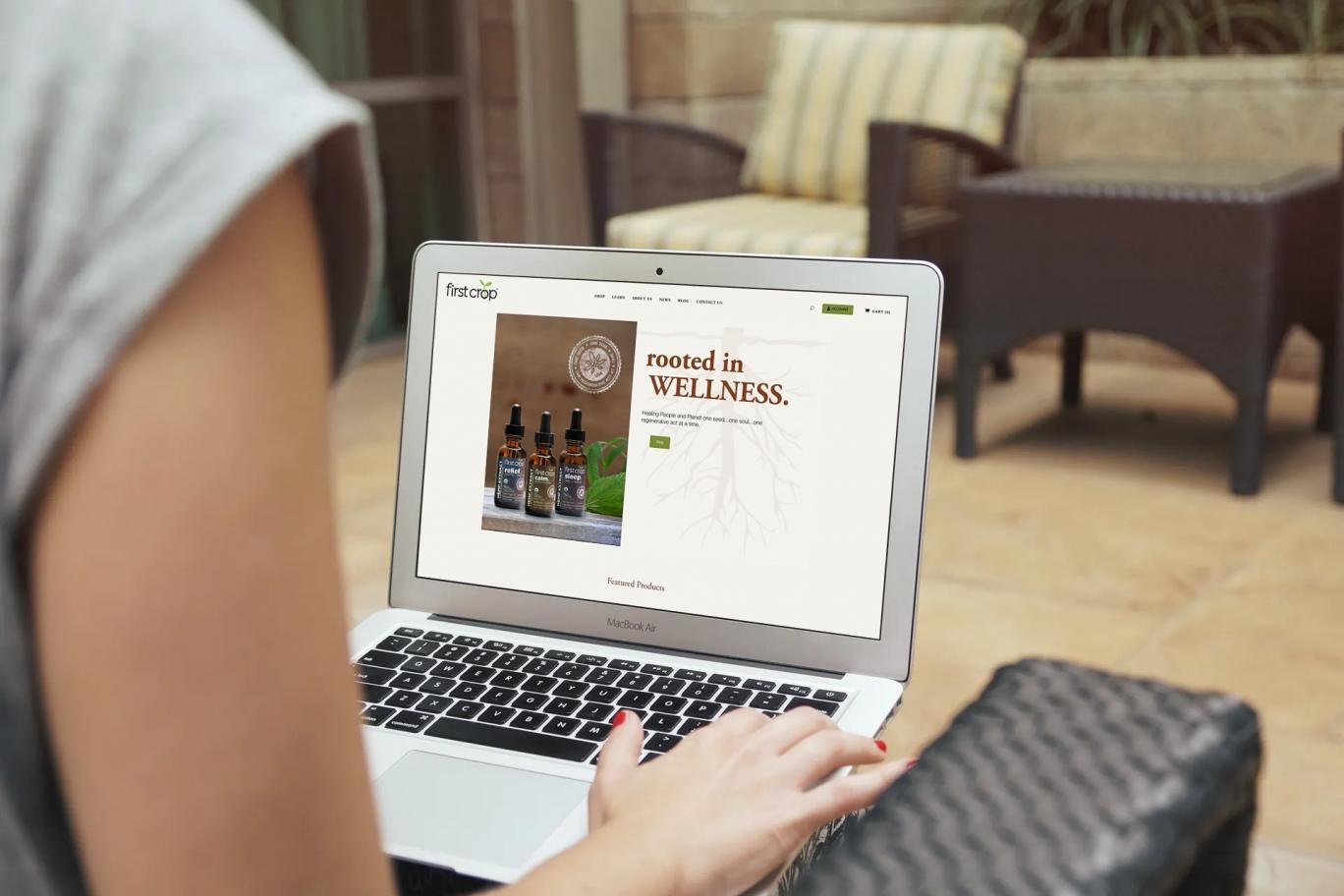 First Crop Website