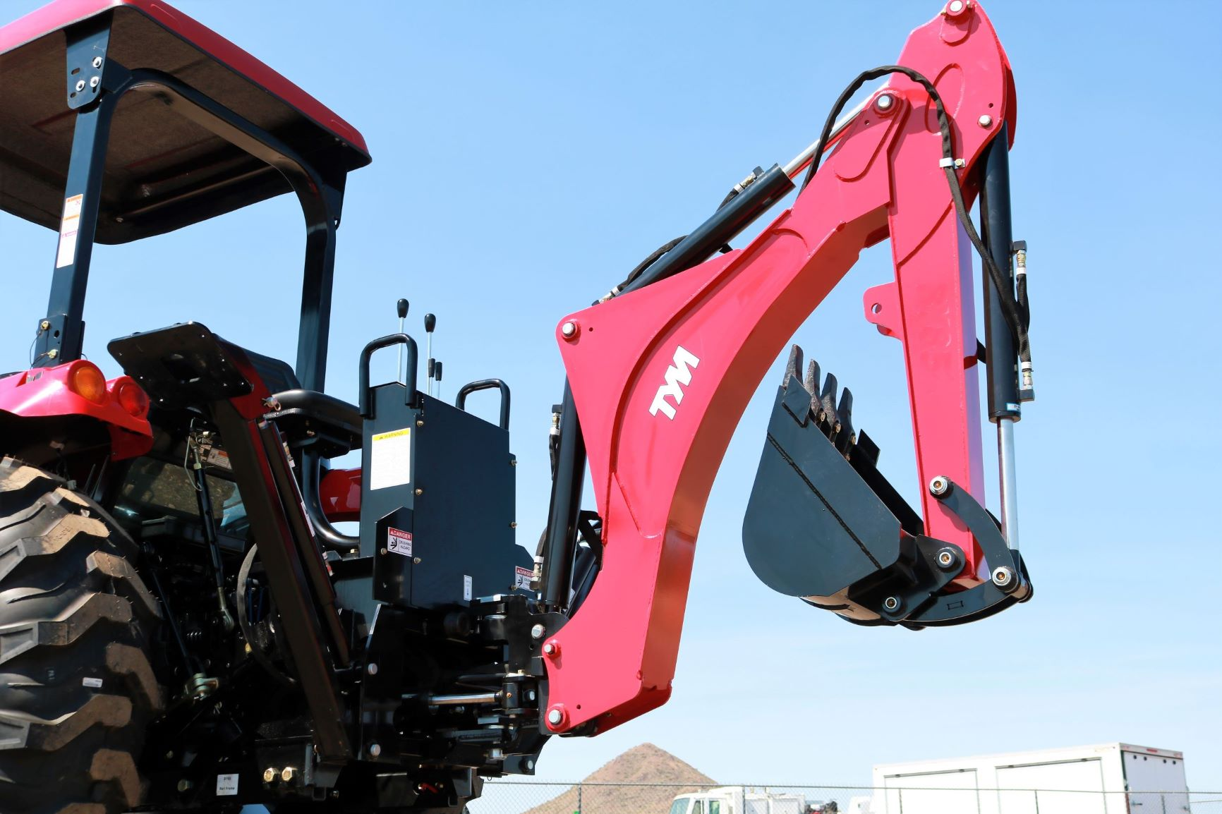 Tym Tractor Team Tractor Backhoe Attachment