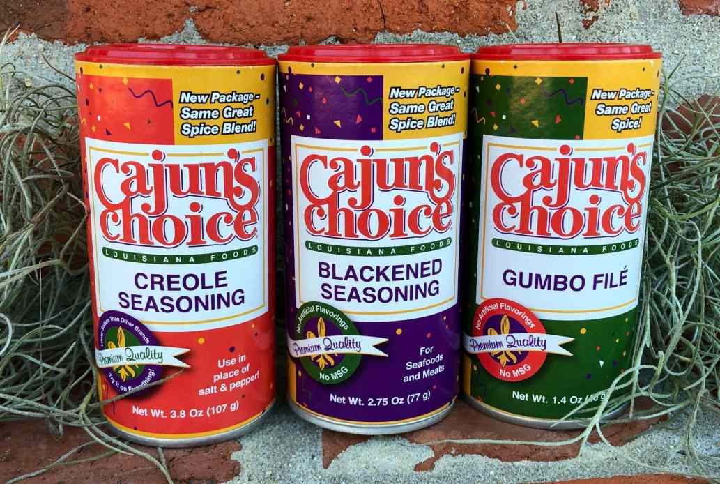 Cajuns Choice Seasonings