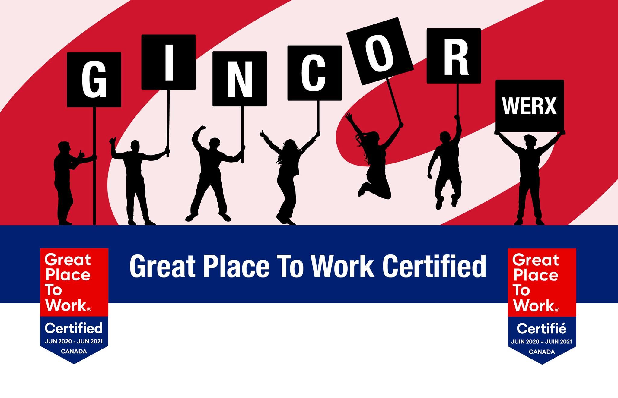 Congrats Gincor Werx