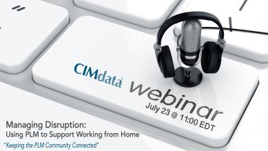 CIMdata PLM Webinar for July