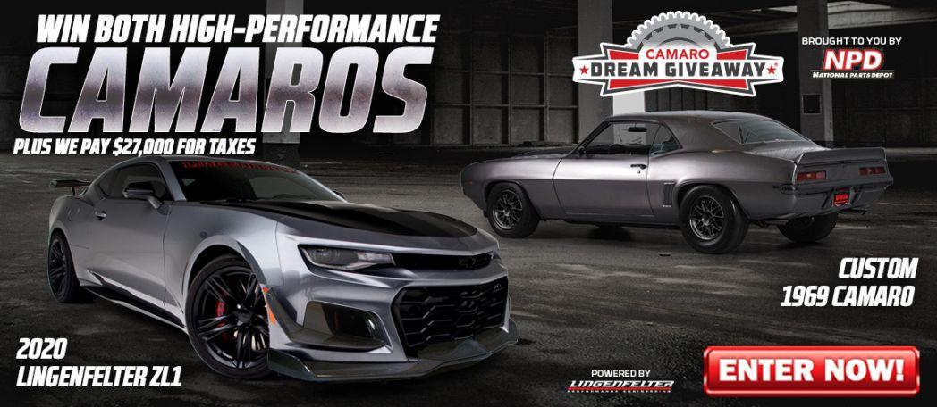 The Camaro Dream Giveaway -Win Both Chevy Camaros!