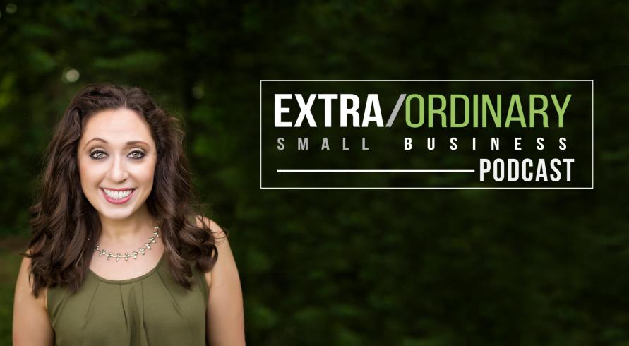 Angela Giovine, Host,Extra/Ordinary Small Business