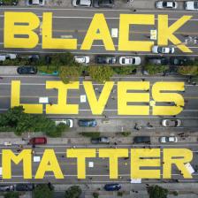 Black Lives Matter Mural San Francisco