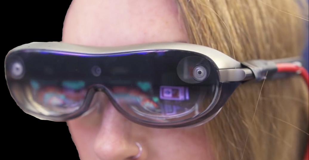 2019 smartglasses concept design from Lenovo.