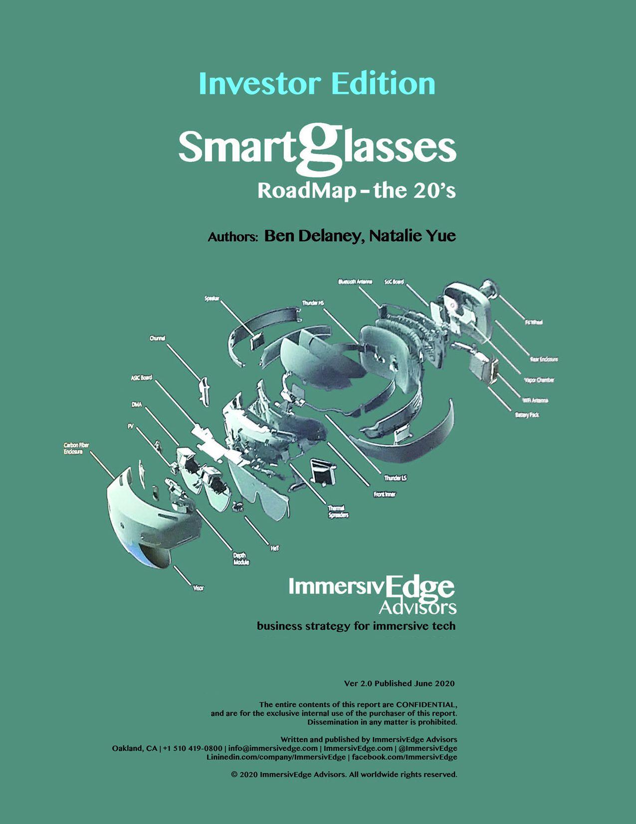 Smartglasses Roadmap, Investor Edition