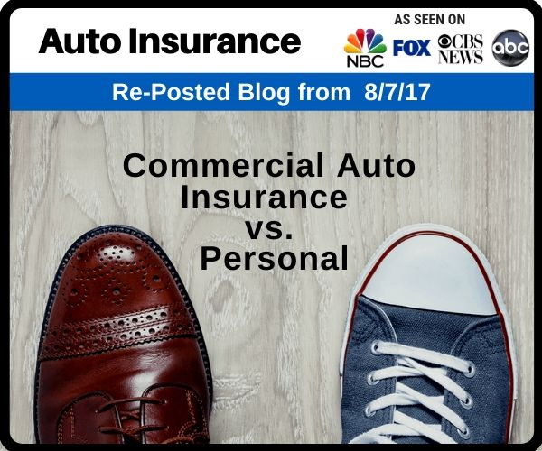 Commercial Auto Insurance vs. Personal Auto...