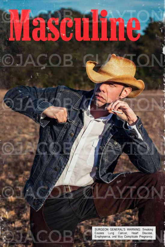 Self Portrait | Marlboro Man ©Jacob Clayton