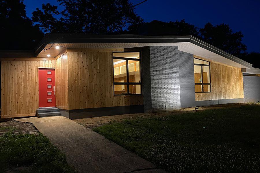 Lead Dog Builders renovates mid-century home.