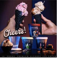 Booze Cream Cones