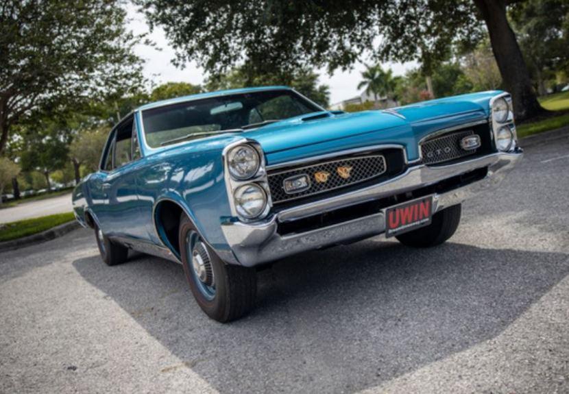 The Award-Winning 1967 Pontiac GTO Grand Prize