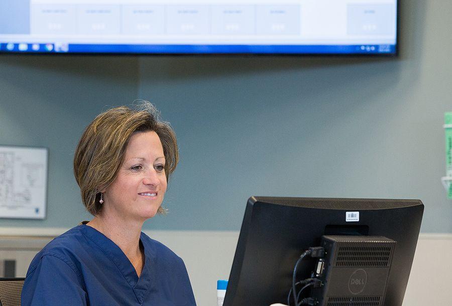 Caregivers receive nurse call email alerts