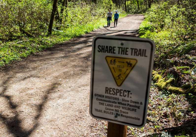 Proper trail etiquette ensures safe trails for all