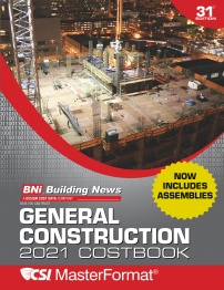 Bni General Construction 2021 Costbook Csi Masterf