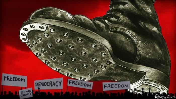 Boot On Democracy