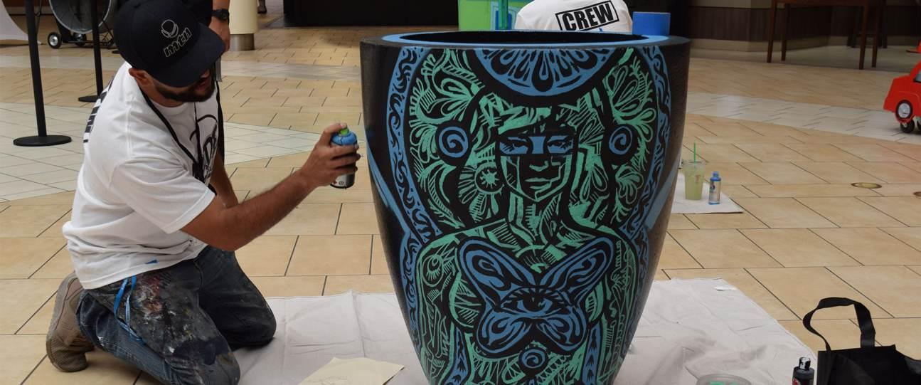 Montebello Artist At Work