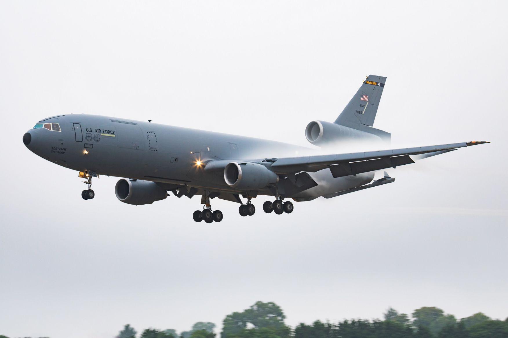 US Air Force KC-10 Extender Aircraft