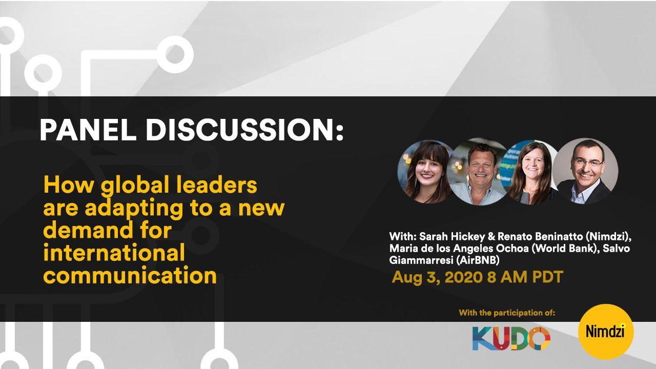 Webinar: Multilingual Web Conferencing Today